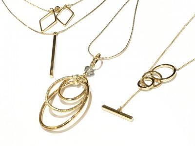 ゴールド ロング ネックレス