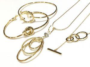 アクセサリー ゴールド ネックレス バングル ブレスレット ロング